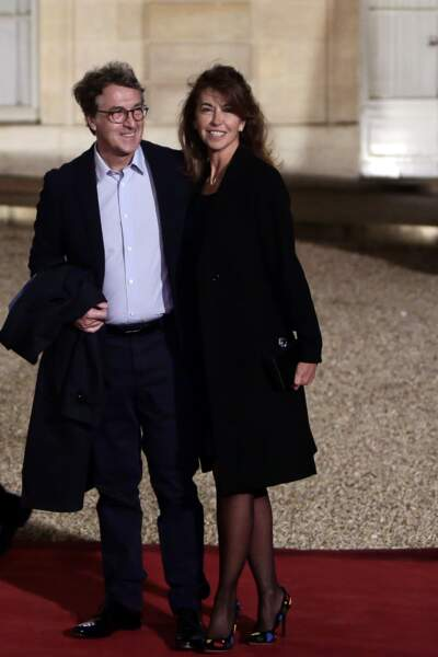 François Cluzet et sa femme Narjiss le 10 mars 2016