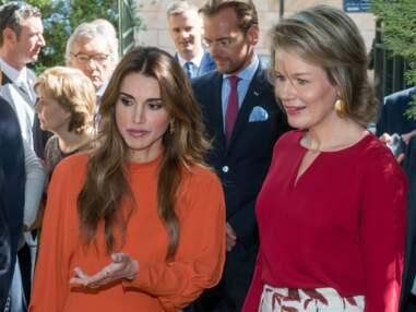 La reine Rania et la reine Mathilde de Belgique, toujours aussi chic