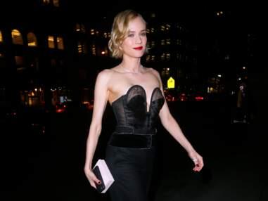 PHOTOS - Diane Kruger sublime avec un look rétro à New York