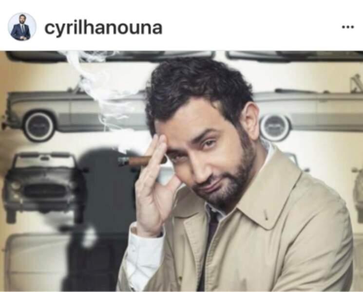 Cyril Hanouna se prend pour Columbo