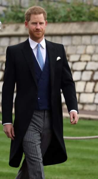 Le prince Harry se rend au mariage de Lady Gabriella Windsor ce samedi 18 mai.