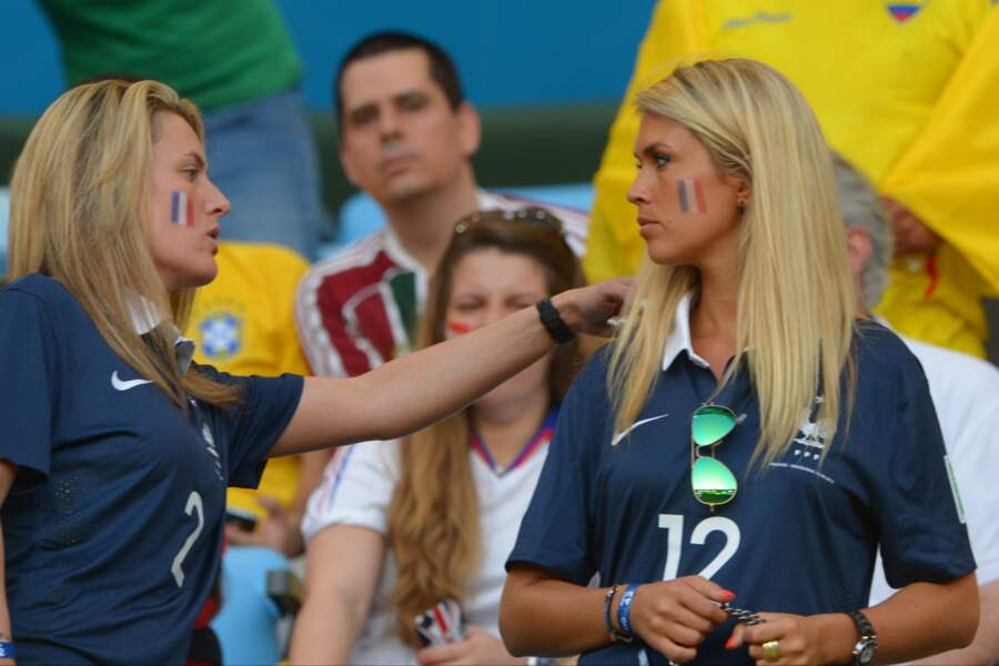 Les deux femmes ont assisté au match France / Equateur en juin 2014.