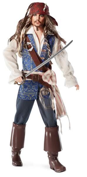 Une poupée inspirée par le personnage de Jack Sparrow est commercialisée en 2011