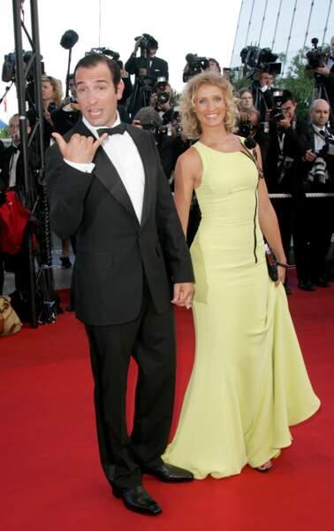 Jean Dujardin et Alexandra Lamy en 2005