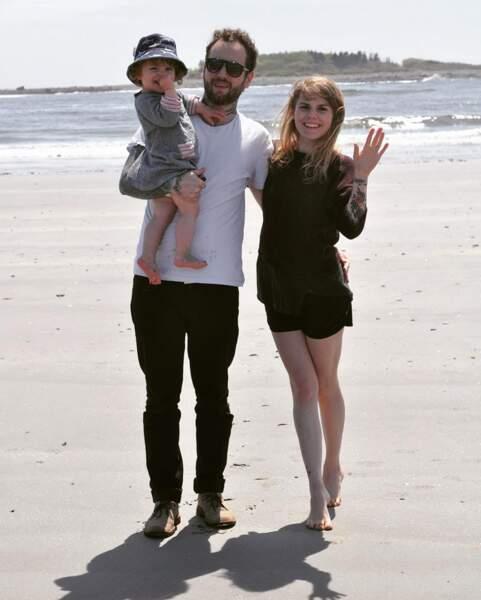 Le couple a fêté les 4 ans de leur petite fille