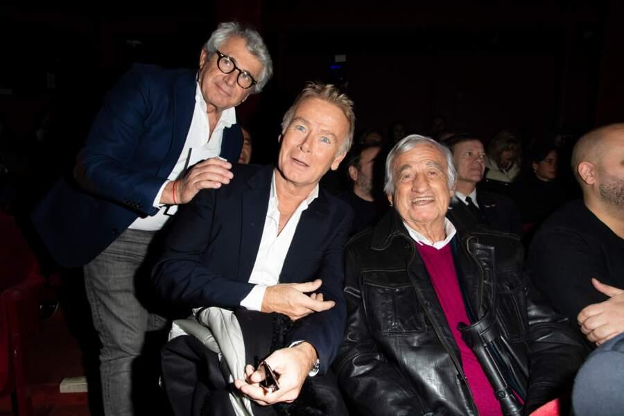 Trophées du Bien-Être : Jean-Paul Belmondo avec Michel Boujenah et Franck Dubosc