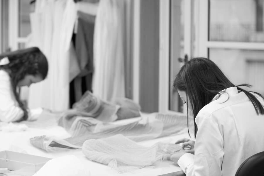 Une robe qui prouve tout le savoir-faire de la maison Dior Haute Couture