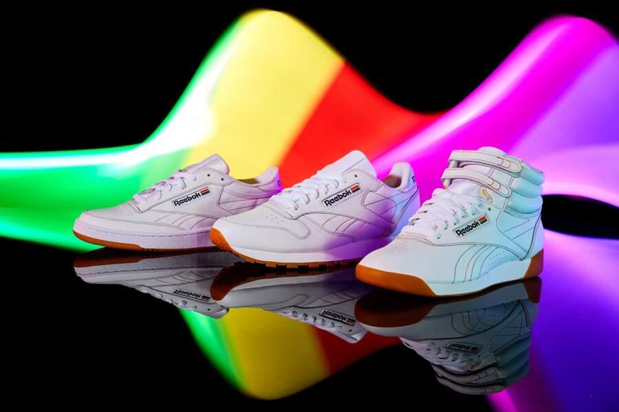 Les baskets arc en ciel de Reebok pour une collection spéciale LGBT,