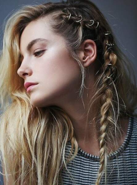 Les anneaux de cheveux