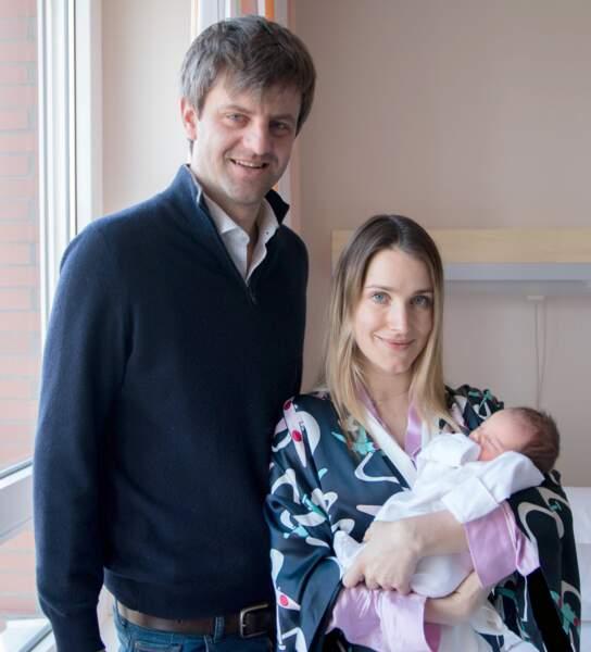 Première photo officielle d'Elisabeth, fille du prince Ernst August Junior de Hanovre et d'Ekaterina Malysheva