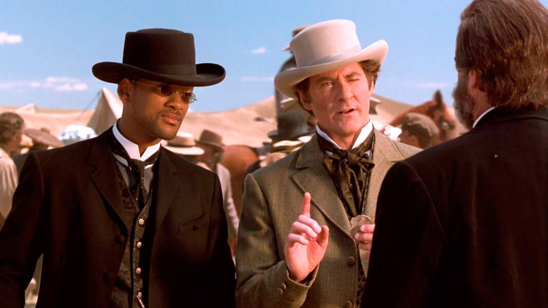 Kevin Kline incarne le président Ulysse Grant dans Wild Wild West, avec Will Smith, en 1999