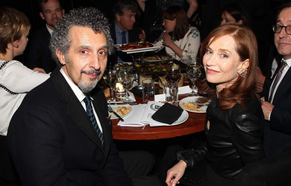 Avec l'acteur John Turturro