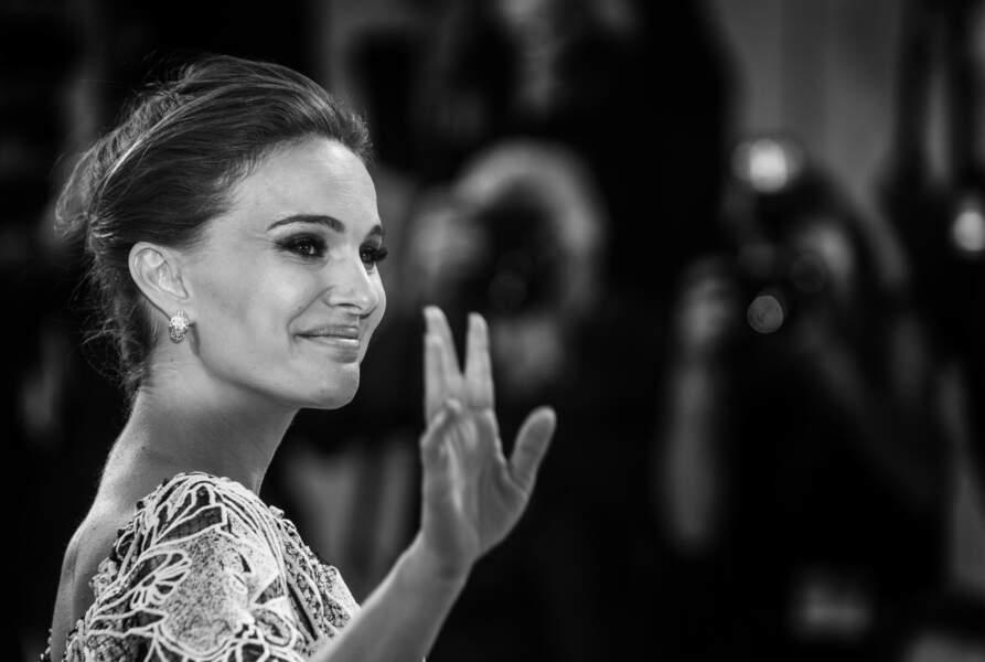 Natalie Portman, future maman radieuse en Bulgari
