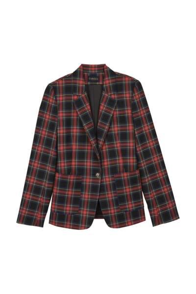 Veste en laine mélangée, CAROLL, 160 €
