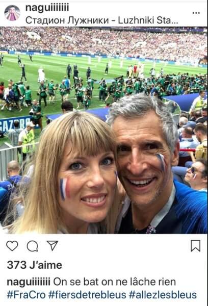Nagui et son épouse Mélanie Page