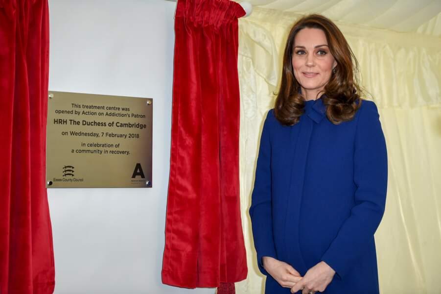 Kate Middleton, canon dans un manteau signé Goat Fashion à 660£
