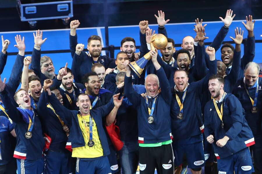 L'équipe de France de Handball