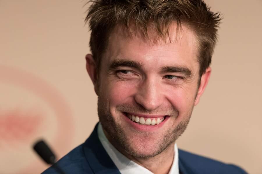 """Robert Pattinson à la conférence de presse du film """"Good Time"""", , le 25 mai 2017 à Cannes"""