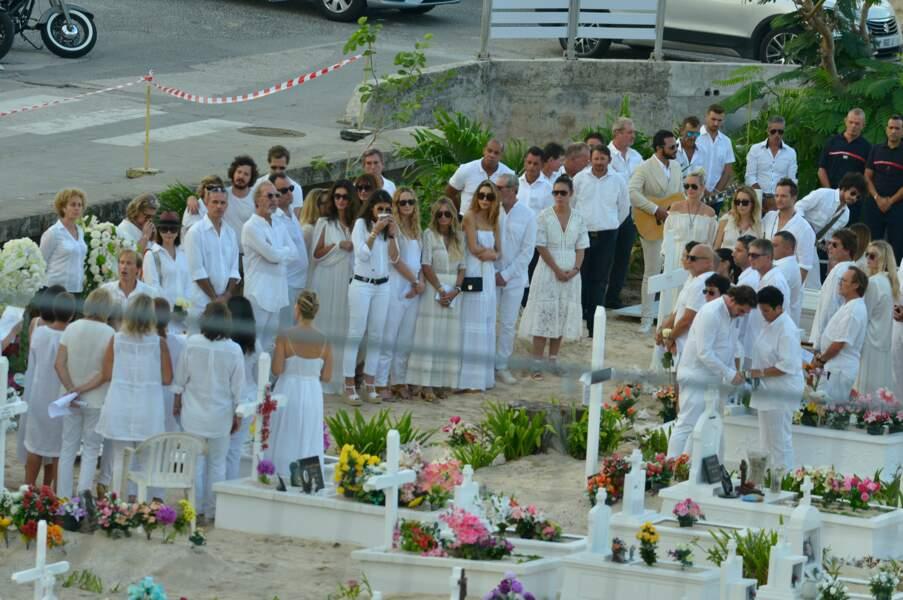 Obsèques de Johnny Hallyday à Saint Barth : une cérémonie dans la tradition antillaise