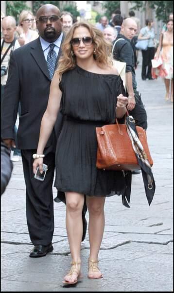 Jennifer Lopez radieuse quatre mois après son accouchement