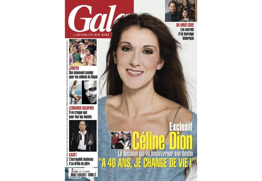 Céline Dion la décision qui va bouleverser son destin