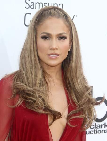 Façon glamour comme Jennifer Lopez