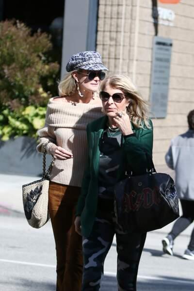 Au programme pour la mère et la fille : salon de coiffure et brunch à Beverly Hills, avant la sortie de l'école.