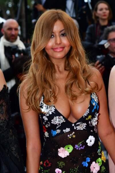 Zahia était très heureuse de défendre un film pour la première fois à Cannes