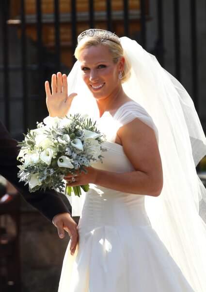 Mariage de Zara Philipps et Mike Tindall en 2011