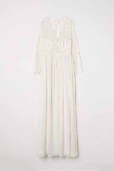 H M Sort Une Copie De La Robe De Mariee De Kate Middleton Gala