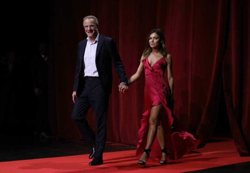 Christophe Lambert et Camilla Ferranti à Lyon le 13 octobre 2018