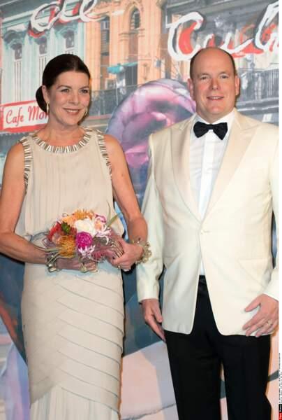Ce samedi 27 juillet, Caroline de Monaco portait de nouveau cette fameuse robe