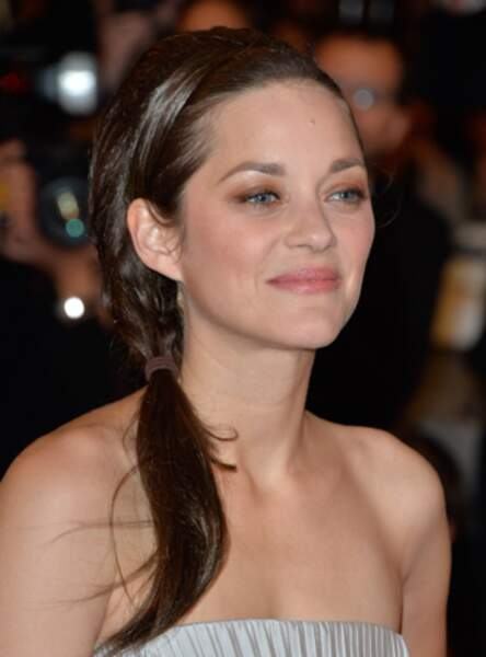 La queue de cheval de princesse de Marion Cotillard