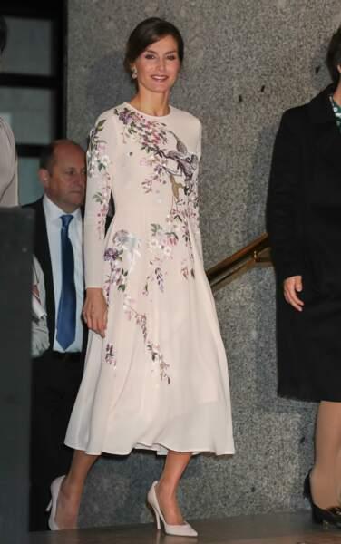 Letizia d'Espagne rayonnante dans une sublime robe Asos à 85 € !