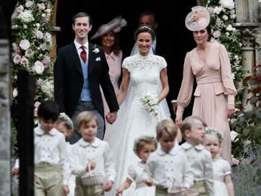 Photos : les enfants stars du mariage de Pippa Middleton