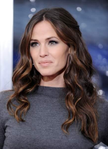 La demi-queue glamour de Jennifer Garner
