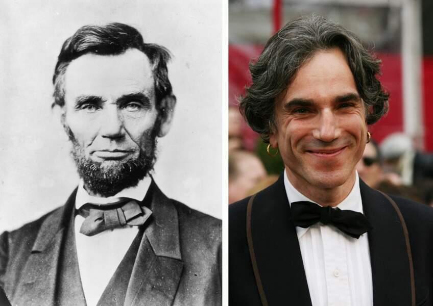 Daniel Day Lewis joue le rôle d'Abraham Lincoln