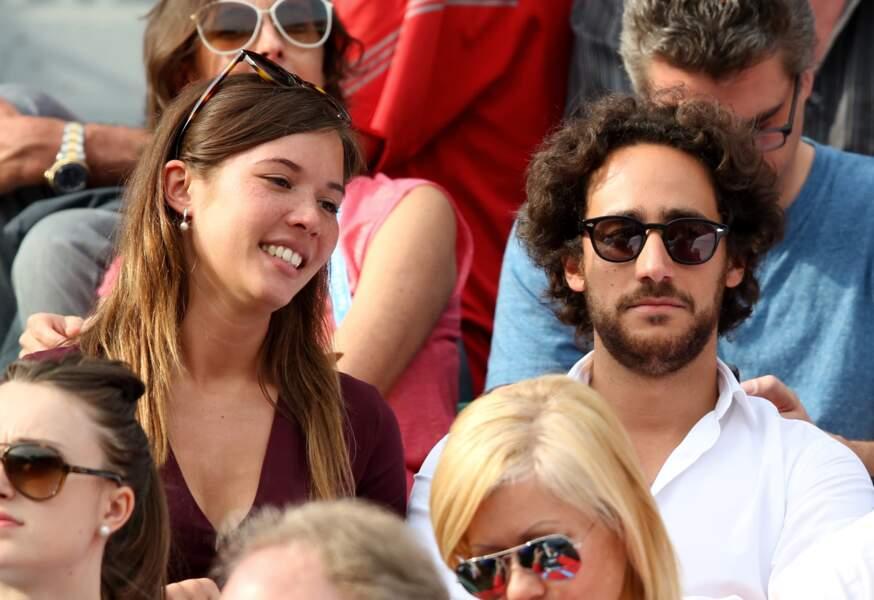 Thomas Hollande et Emilie Broussouloux : love is in the air à Roland Garros en 2016