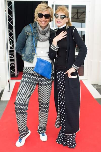 Rejane Lacoste et Arielle Dombasle