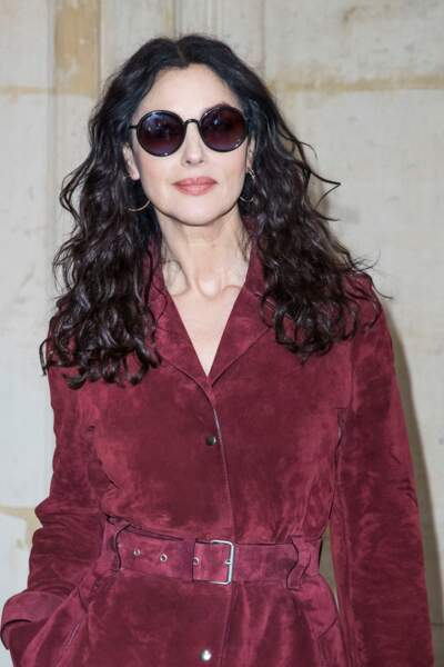 le wavy superstar pour Monica Bellucci