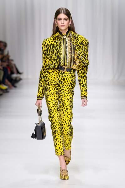 Kaia Gerber, la fille de Cindy Crawford, révélation pour sa première fashion week ! 18 défilés !