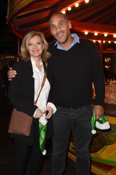 Valérie Trierweiler et Romain Magellan, tout sourires