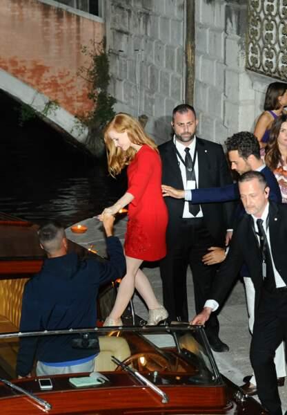 Jessica Chastain a épousé Gian Luca Passi de Preposulo, en Italie, ce samedi 10 juin 2017.