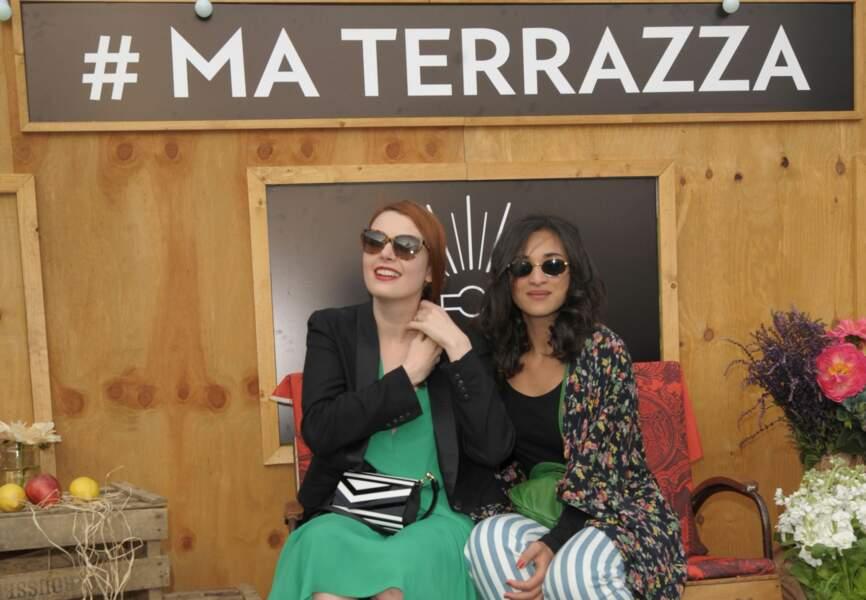 Elodie Frégé et Camelia Jordana