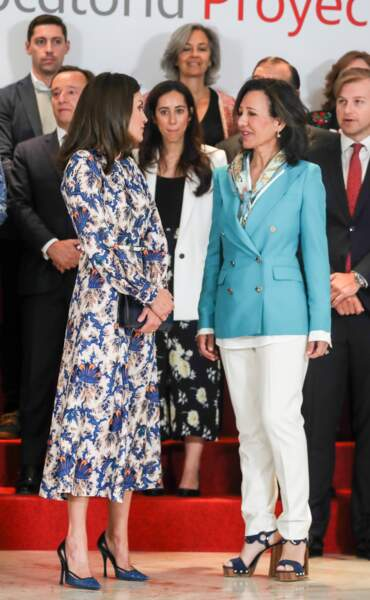 La reine Letizia d'Espagne était une nouvelle fois chic et ravissante ce 20 mai à Madrid