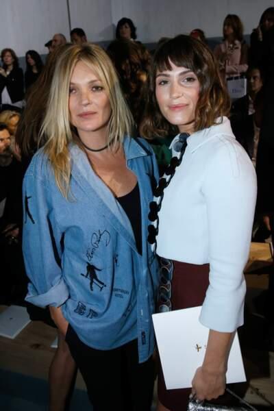 Kate Moss et Gemma Arterton