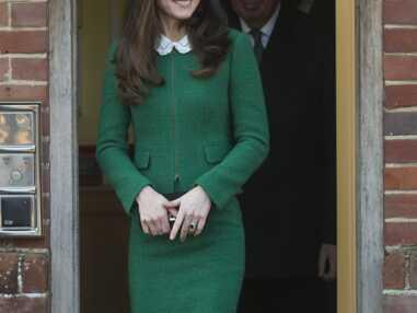 Kate Middleton en vert sapin