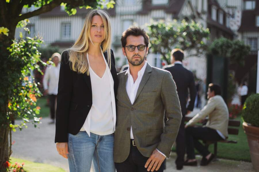 Frédéric Diefenthal et sa compagne