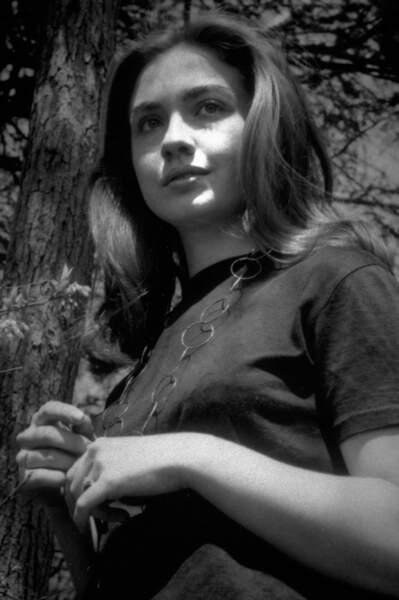 Hillary Rodham, à 19 ans (1966)