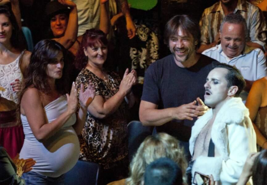 Penelope et Javier au cirque